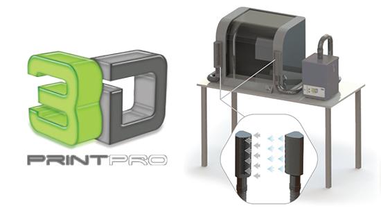 3Dプリンティング用吸煙機 PrintPRO