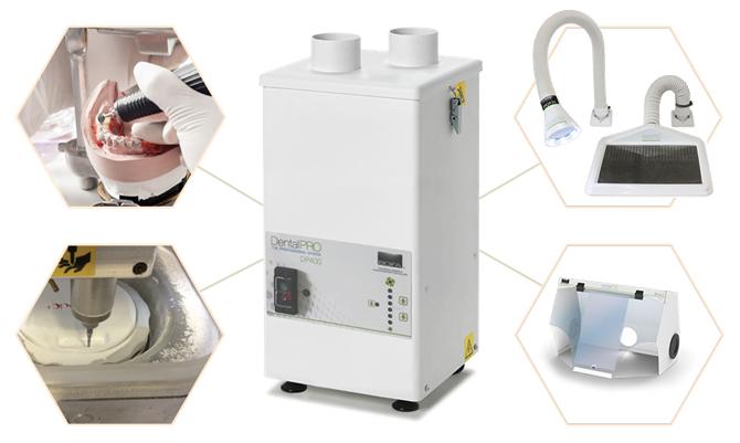 歯科技工向け集塵機 DP400