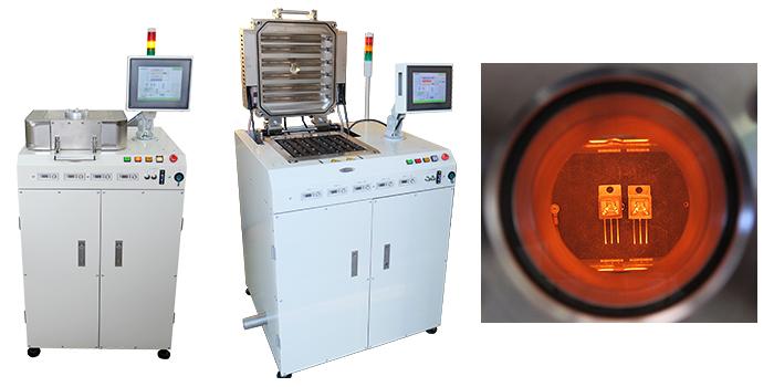 vacuum & pressure reflow system